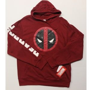 Men's Marvel Deadpool Logo Sweatshirt Hoodie